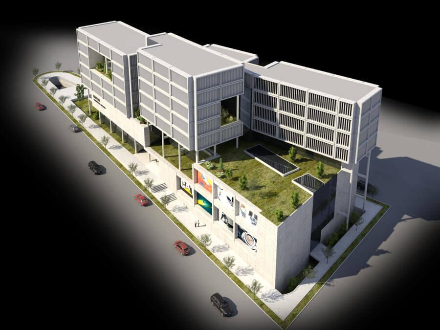 پروژه ساختمان تجاری تهرانپارس